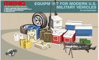 SPS-014 1/35 Equipment for modern U.S. Military vehicles