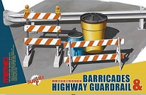 SPS-013 1/35 SPS-013 Barricades & Highway Guardrail