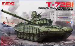 TS-033 1/35 RUSSIAN MAIN BATTLE TANK T-72B1