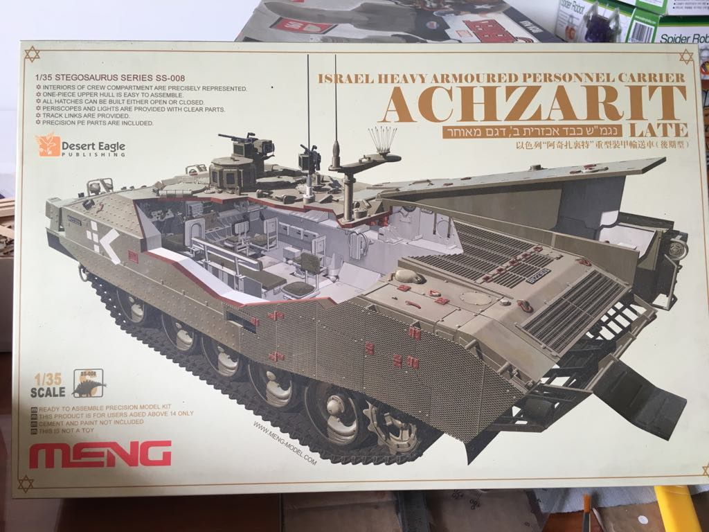 SS-008 1/35 ISRAEL HEAVY ARMOURED PERSONNEL CARRIER ACHZARIT LATE