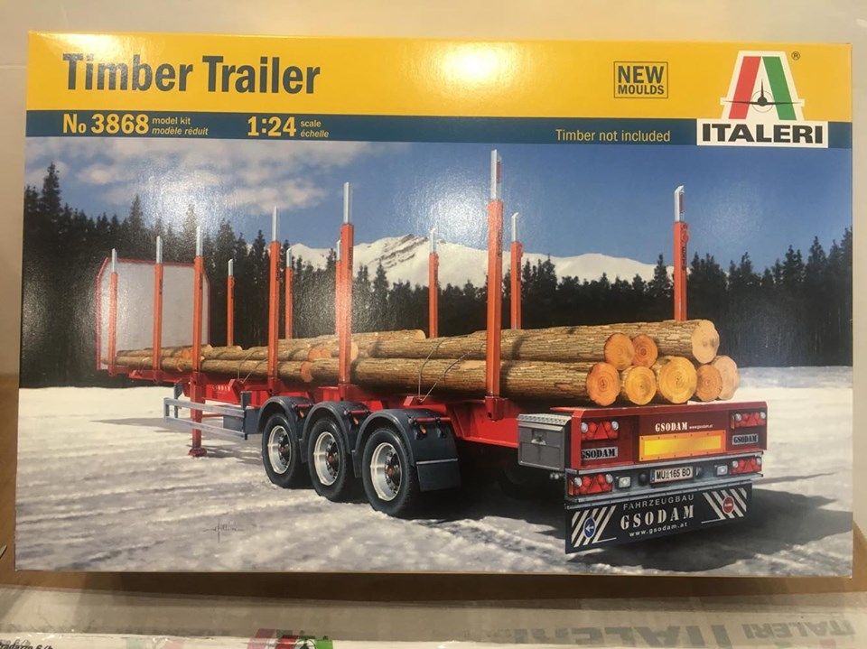 3868S - TIMBER TRAILER